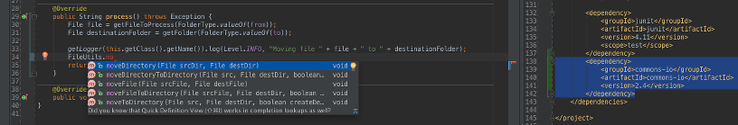IntelliJ Maven Dependency Added