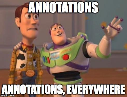 Annotations Everywhere