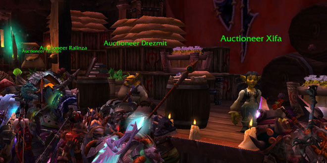 World of Warcraft Horde Auction House