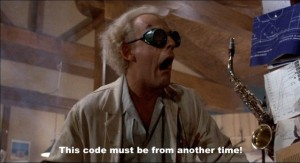Code from Another Time